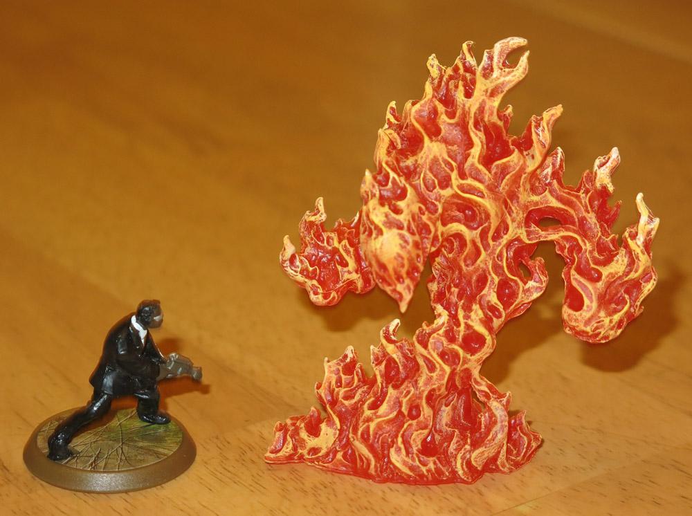 Reaper Bones - Greater Fire Elemental - Heroscapers - Gallery