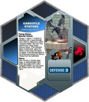 Throwable Gargoyle Statues