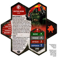 Doctor Doom (hasbro - Comic Ar