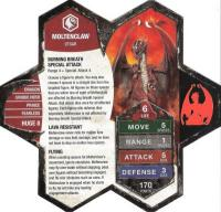 Moltenclaw Army Card
