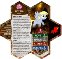 Mlpscape Custom Card - Ditzy D
