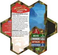 Guile Street Fighter Heroscape Card