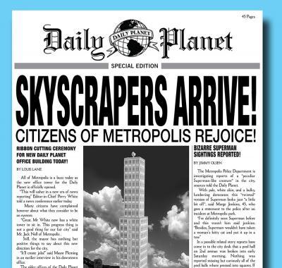 Custom Newspaper Template Yeniscale