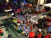 Lego Xmas Village Downtown