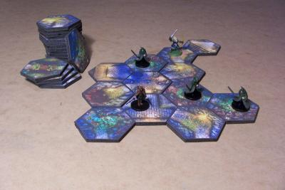 Patrol Lost Dungeon Tiles