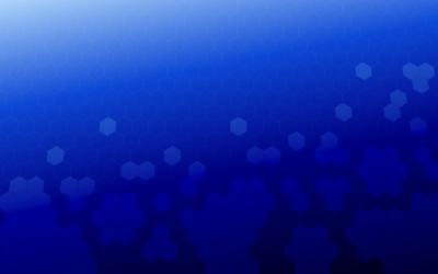 HS Hex Grid Wallpaper Blue