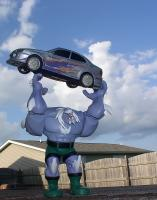 Doomsday Throwing A Car