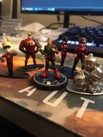 Nano Metalfigs Incredibles