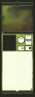 Aotp Unit Card Blank Green