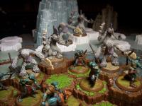 Frostfur Warband Vs Arrow Grut