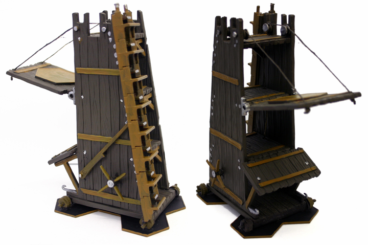 siege tower rules